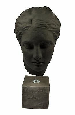 Hygeia sculpture Ancient Greek Goddess of health museum reproduction handpainted