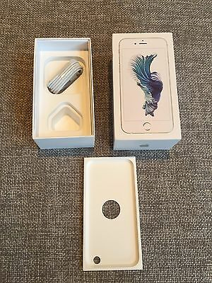 Apple iPhone 6S Silver Box only and cable