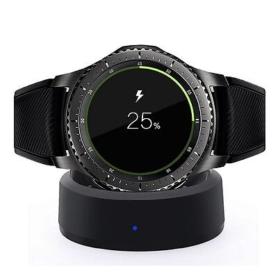 Samsung Galaxy Gear S3 Smart Watch Wireless USB Charging Dock Charger Stand