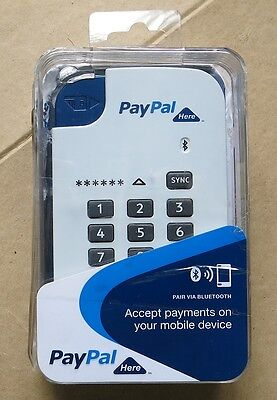 PAYPAL Here Bluetooth Mobile Chip & PIN Card Reader
