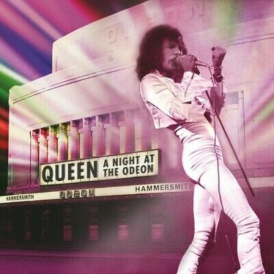 Queen NIGHT AT THE ODEON (W/DVD)   box set + Blu-ray 3 CD NEW sealed