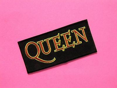 Queen New Stitched Patch Uk Import Iron - On