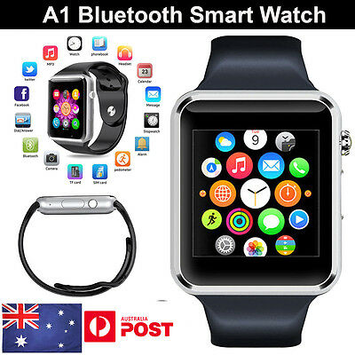 AU Newest A1 Bluetooth Smart Watch NFC Wrist Phone Mate For iPhone Andorid