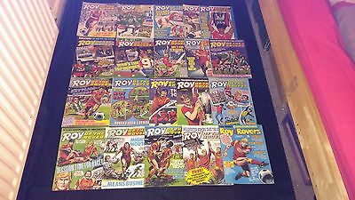 Roy of the Rovers Vintage Comic Joblot X 20 1987/1988