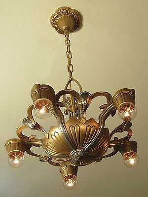 Antique LINCOLN Light Fixture - Professionally Restored - Pair Available!