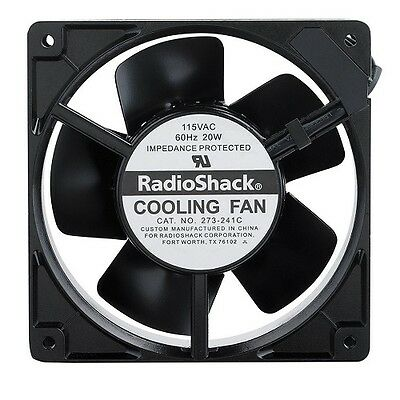 *new* Radio Shack Brushless Ac Cooling Fan 4 Inch Rated Voltage 115V-Ac-2730241
