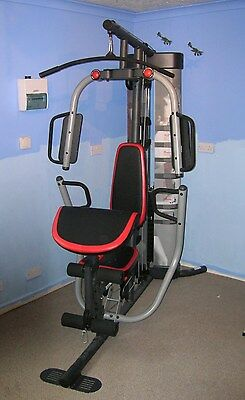 Weider PRO 5500 Body Building Home System Multi Gym with 85kg Weight Stack