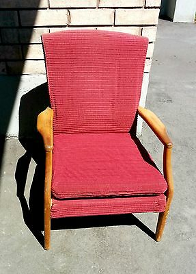 Chair Antique Vintage Old Parker Knoll Arm Chair model 748/9