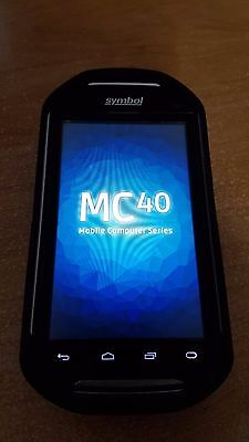 Symbol/ Zebra MC40 w/ WiFi, Android 4.1, 2D Imager, Rubber Boot