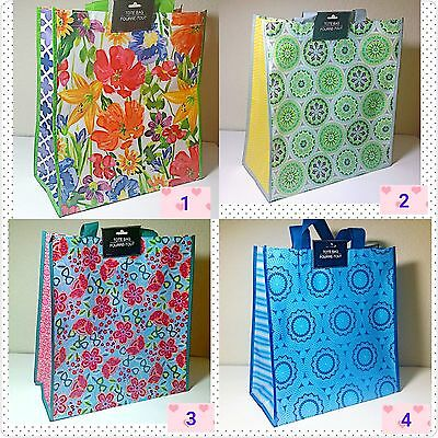 Large Reusable SHOPPING/Grocery/BEACH Bag Totes Eco-friendly WATER RESISTANT