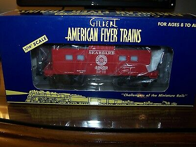 American Flyer S Scale 6-48724 Seaboard Caboose NIB