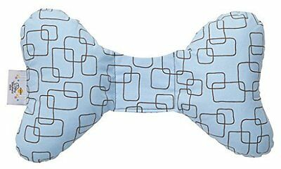 Baby Elephant Ears Head Support Pillow -blue Mod Square-