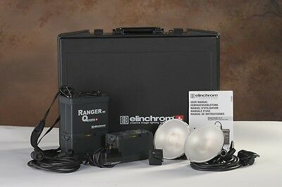 Elinchrom Ranger Quadra RX 2-Light Kit S Heads w/ Ranger Q Adapter Ring