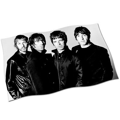 Oasis Flag Banner NEW Liam Noel Gallagher Morning Glory Stand by Me Wonderwall
