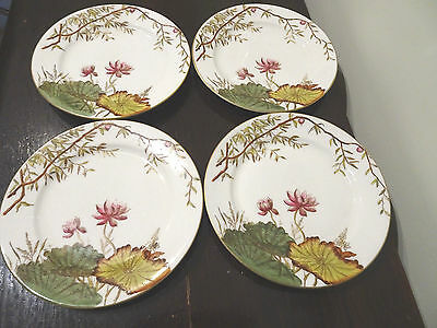 GEORGE JONES & SONS VICTORIAN PLATE LILIUM DESIGN 6075 x 4