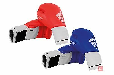 Adidas Hybrid Boxing Glove (Available in Red or Blue and in a range of sizes)
