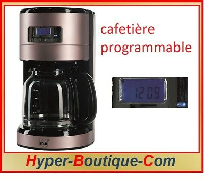 Mia-Germany - KF 1743 RG - Cafetière programmable - Coloris Or-Rose - 1000 watts