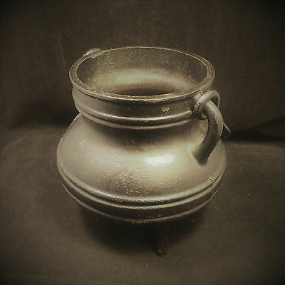 Metaphysical Empowered Cast Iron Witch's Cauldron Estate Sale Witch Owned