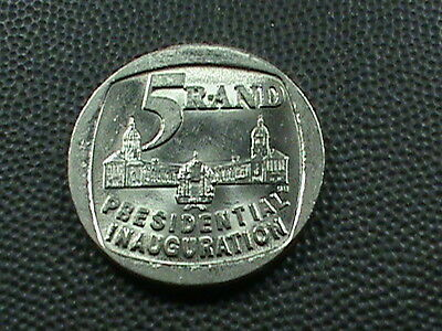 SOUTH  AFRICA    5  Rand    1994     UNCIRCULATED