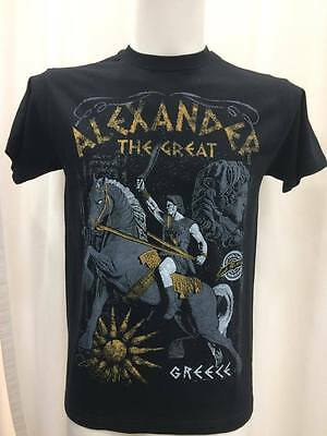 Greek T-Shirt Alexander The Great Macedonia King From Greece