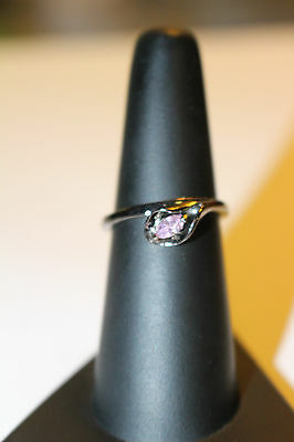 Wicca  Blessed Ring 14 K Black Gold Filled  Laughter and Love  Size 6