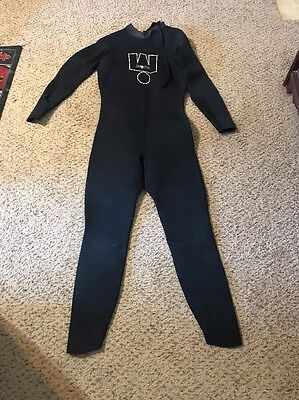 Men's Ironman Triathlon Instinct Black Speedsuit Wet Suit Large L Long Selves