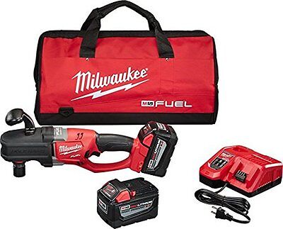 "Milwaukee 2708-22HD M18 FUEL 18V Brushless 1/2"" Hole Hawg Right Angle Drill Kit"