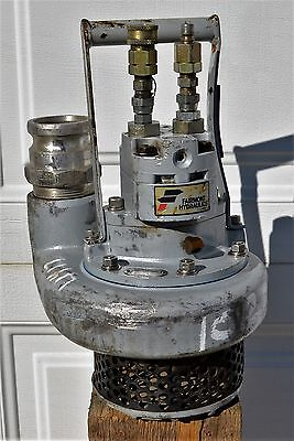"Greenlee hydraulic submersible 2-1/2"" water pump H4660B *Tested and Working*"