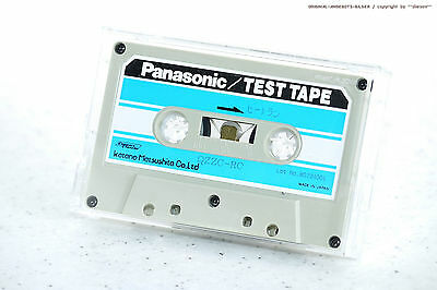 Panasonic/Technics/National qzzc-rc/qzzcrc Test Tape for Cassette Deck's ( NOS