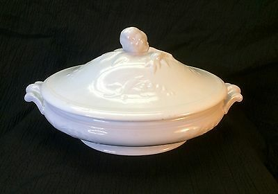 Antique Wedgwood Hyacinth Large Ironstone Tureen