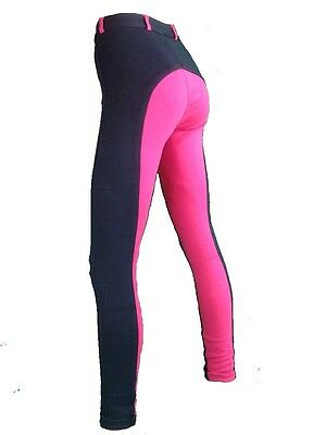 Ladies Jodhpurs, Womens Pink Jodphurs Sizes 8 to 24 Navy and Hot Pink