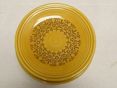 6 Homer Laughlin Fiesta Coventry Casualstone Antique Gold Bread Butter Plates