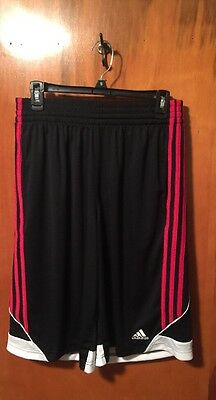 Adidas Men's Climalite 3G Speed 2.0 Black Athletic Shorts Size Small NWT