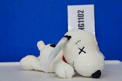 KAWS x PEANUTS Uniqlo Snoopy Plush Toy Size Small S IN HAND *2-DAY SHIPPING USA*