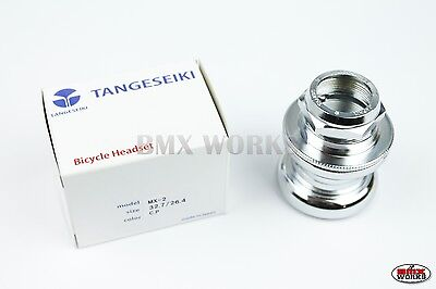 Tange Chrome MX2 Headset with Stamped Top Nut - Suit Old School BMX