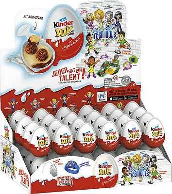 Kinder Joy Teen Idols, 48er Pack (48 x 20g) - original Display, ungeöffnet