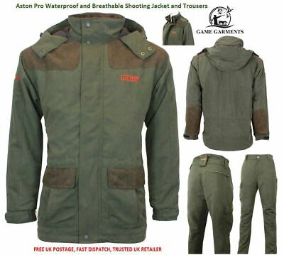 Game Aston Waterproof Pro Jacket / Trousers or Suit - SAVE £5! Shooting, Fishing