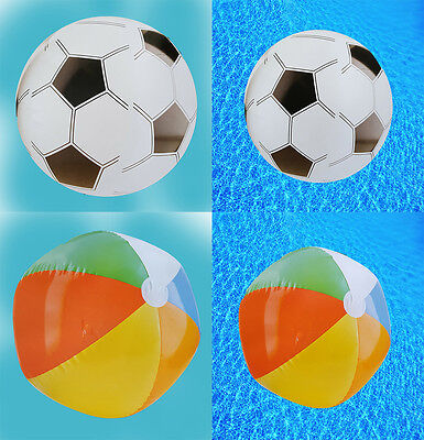 New Inflatable Big 76cm Panel Beach Ball Swimming Pool Summer Party Water UK