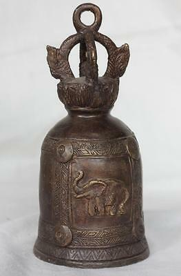 Asian Cambodian Khmer Bronze Bell #G23
