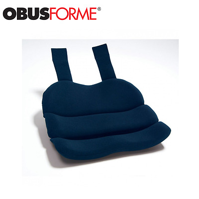 ObusForme Car / Traveling Seat Cushion Provides Posture Support Pelvis & Thighs