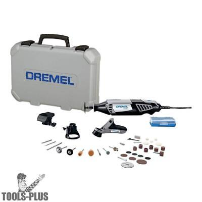High Performance Rotary Tool Kit with 34 Accessories Dremel 4000-3/34 New