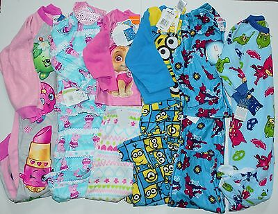 Toddler Pajama Set Boys or Girls You pick Character Pajamas 2T 3T 4T 5T NEW