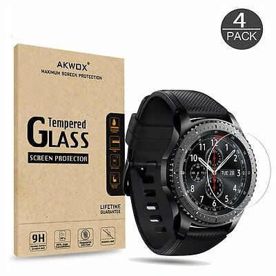 Samsung Gear S3 Frontier / Classic (4-Pack) Tempered Glass Screen Protector