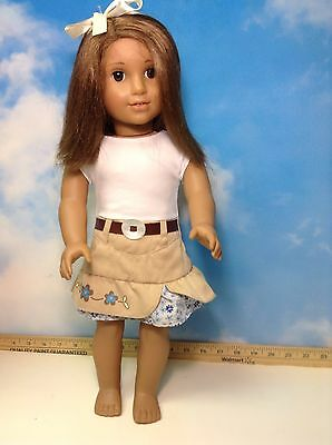 American Girl /Pleasant Company Doll Brown Hair & Eyes