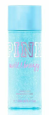 Victoria's Secret Pink Wild & Breezy Shimmer Body Mist 250ml 8.4 fl oz