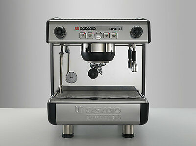 NEW, Casadio Undici A1 One Head Espresso/Cappuccino Machine