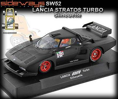 Sideways SW52 Lancia StratosTurbo - Silhouette - suits Scalextric slot car track