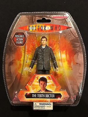 Doctor Who The Tenth Doctor Posable Action Figure Ships Fast