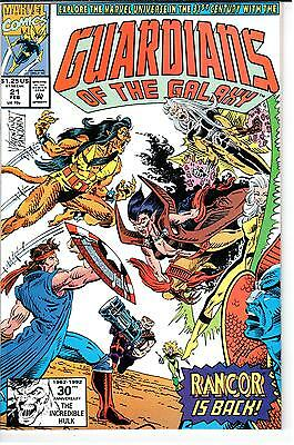 Guardians of the Galaxy (1990 Series) #021 February 1992 Marvel NM- 9.2