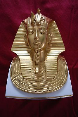 LENOX MMA 24k GOLD The Gold Mask Of Tutankhamun 1978 Limited Edition of 15,000